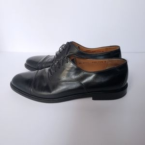 Salvatore Ferragamo Black Oxfords Dress Shoes